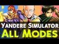 Yandere Simulator : ALL MODES ! Easter Eggs !