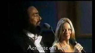 Mariah Carey Duet With Luciano Pavarotti - Hero (ao Vivo)