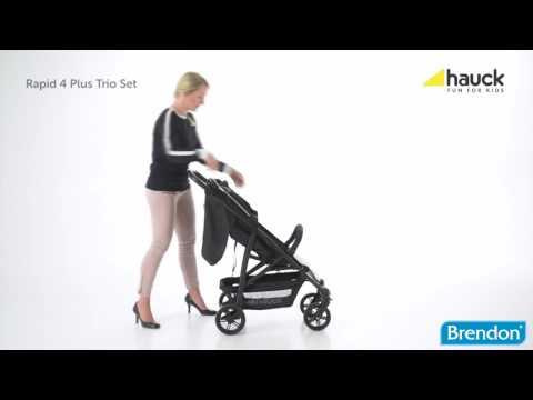 Hauck Rapid 4 Plus Trioset, instruktionsvideo