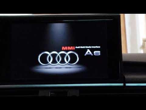 Audi A6 4G MIB II Green menu - смотреть онлайн на Hah Life