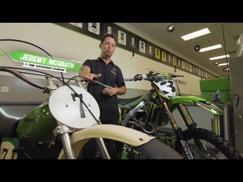 Kawasaki Science of Supercross: Handlebars