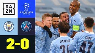 City im Finale! Mahrez schießt Citizens ins Glück: Man City - PSG 2:0 | UEFA Champions League | DAZN