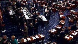 LIVE STREAM: Senate Floor Debate DEMS Protest Donald Trump