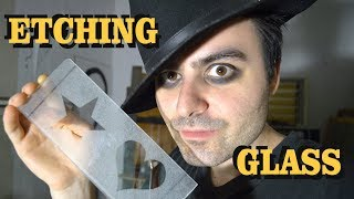 Glass Etching - Cheap Method