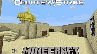 Minecraft карта - De_Dust2 (Counter-Strike - PVP)