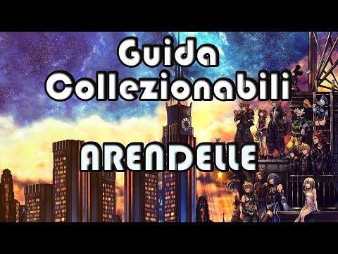 Kingdom Hearts 3 GUIDA a TUTTI i COLLEZIONABILI - ARENDELLE (Tesori, Emblemi Portafortuna, Giochi)