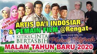 Pemain Film Ketika Cinta Bertasbih & Da'i Asia Indosiar  Live @Rengat Ust. M. Azam Shidqi, Lc.M.Si