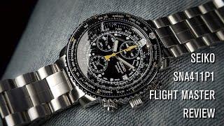 Seiko SNA411P1 Flight Master Review