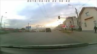 Подборка Аварий и ДТП Апрель 2016 - Bad Drivers Road Rage April 2016 || #167