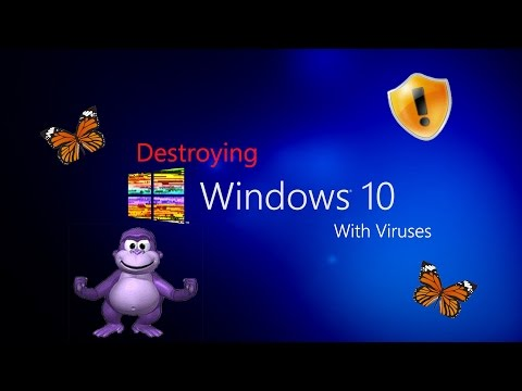 Destroying Windows 10 With Viruses Mp3
