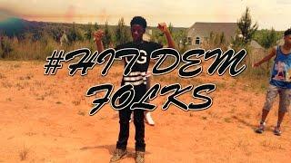 Hit Dem Folks Official Dance Video #Hitdemfolks (Music Video) drop dance Lil Donald - Juice