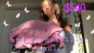 HUGE $540 Brandy Melville try on haul