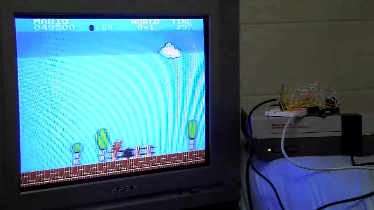 Can A Controller Be Programmed To Speed-Run Super Mario Bros.?