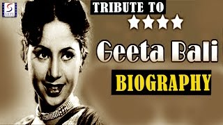 A Tribute To Geeta Bali l Biography l Evergreen Bollywood Actress - Download this Video in MP3, M4A, WEBM, MP4, 3GP