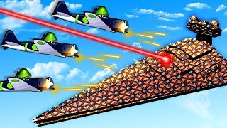 New Planes Swarm The Star Destroyer and Defend against the Galactic Empire in Forts!
