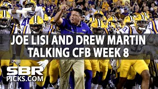 Free Picks With Joe Lisi | College Football Week 8