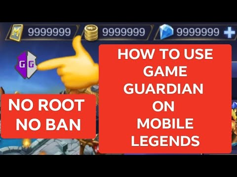 GAME GUARDIAN ON MOBILE LEGENDS 1 HIT KILL [no root]