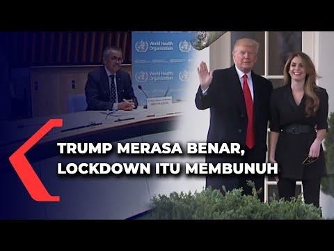 trump merasa benar lockdown itu membunuh