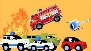 Мультики про Машинки все серии подряд 🚓🚒🚗. Машинка Редди Пожарная Мультфильмы для Детей Сборник