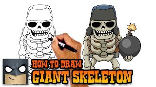 How to Draw Giant Skeleton | Clash Royale