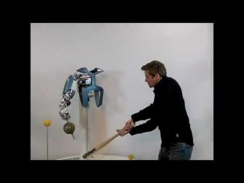 Researcher Takes Glee In Smashing Robot Arm With Baseball Bat
