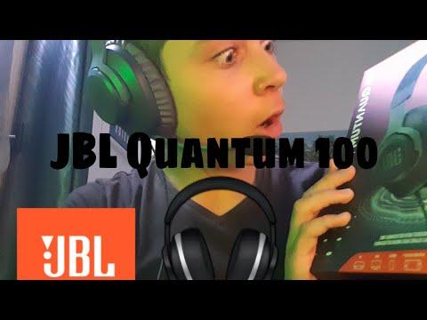 Unboxing JBL Quantum 100 (je suis très surpris)!