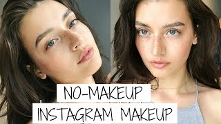 No-Makeup Makeup Tutorial for Instagram | Jessica Clements - Video Youtube