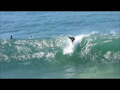 Surfing fun waves at Coolum