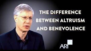 Altruism vs. Benevolence