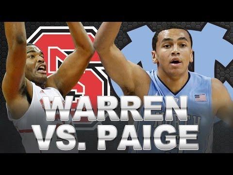 Video: The Marcus Paige vs T.J. Warren Shootout