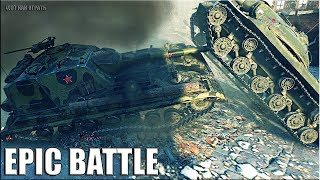 ИМБА против ТОЛПЫ 🌟 Объект 268 Вариант 4 epic battle 🌟 World of Tanks лучший бой на пт сау
