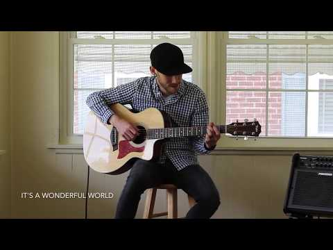 What A Wonderful World - Fingerstyle Acoustic Guitar