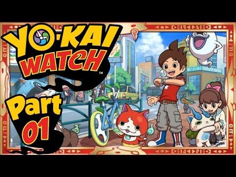 Yo-Kai Watch - Part 1   A New Adventure Begins! [English Gameplay Walkthrough]