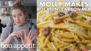 Molly Makes BA's Best Bucatini Carbonara | From the Test Kitchen | Bon Appétit