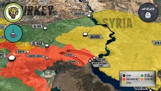 8 марта 2017. Военная обстановка в Сирии. Сирийская армия дошла до Евфрата. Русский перевод.