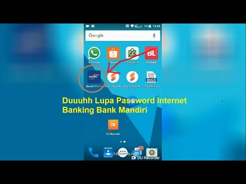 Lupa Password Mobile Banking Bank Mandiri Bagaimana Cara Reset Password