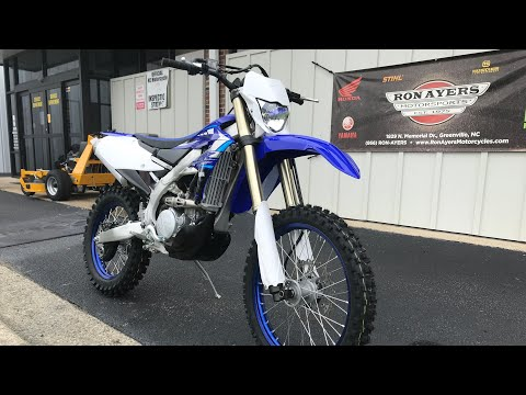 2020 Yamaha WR250F in Greenville, North Carolina - Video 1