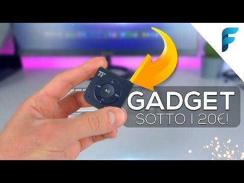 Migliori Gadget TECH sotto i 20€ da NON PERDERE! (2017) - Natale è in ARRIVO!