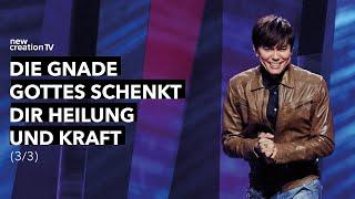 Die Gnade Gottes schenkt dir Heilung und Kraft 3/3 – Joseph Prince I New Creation TV Deutsch