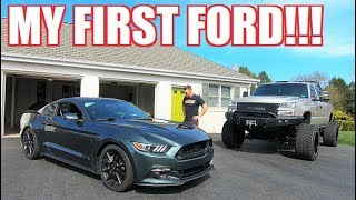 Going to the DARK SIDE.... TRADED a Corvette for a MUSTANG GT!!!