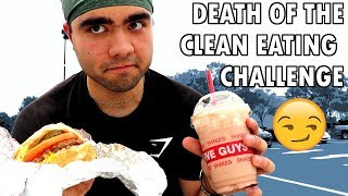 CLEAN EATING CHALLENGE | Finale, My Results, Cheat Meal (Days 7 & 8)