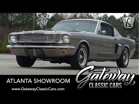 1965 Ford Mustang Fastback For Sale Gateway Classic Cars of Atlanta #1394