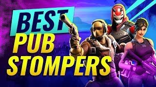 WORLD'S *BEST* PUBSTOMPERS IN FORTNITE! Season 9!