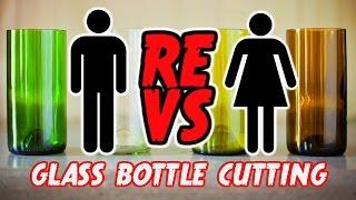 DIY Glass Bottle Cutting - ReVS:Corinne Episode #2