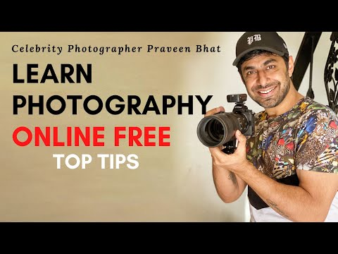 free online courses with certificates | learn photography basics for beginners