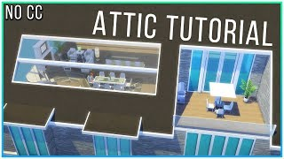 Sims 4 Tutorial - Functional Attic & Roof Windows | Kate Emerald