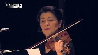Скрипалька Аделіна Опреан з концертом у Львівській Опері