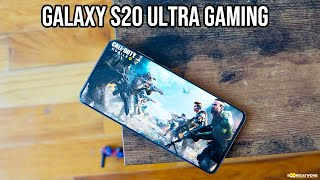 Samsung Galaxy S20 Ultra Gaming - PubG & COD Mobile!