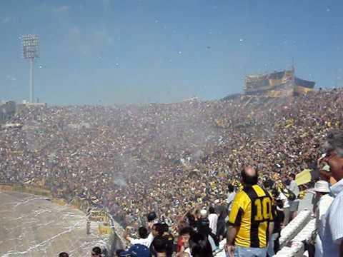 """""""Clásico Ap. 2008 Recibimiento PEÑAROL"""" Barra: Barra Amsterdam • Club: Peñarol"""