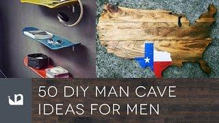50 DIY Man Cave Ideas For Men